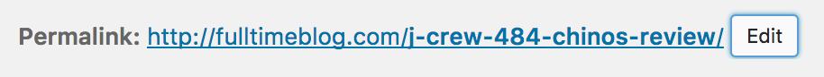 Example post URL
