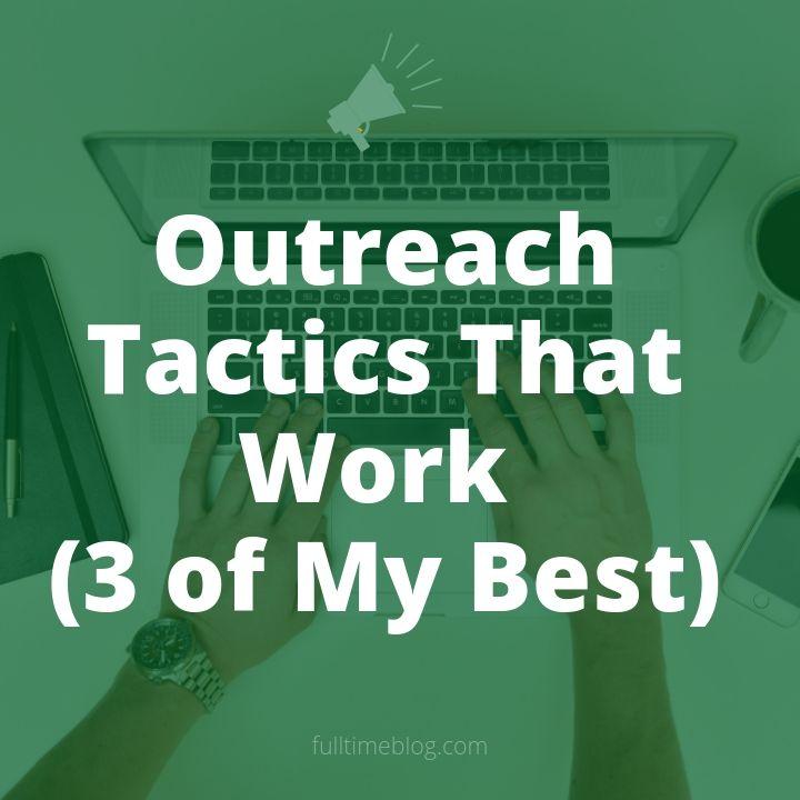 outreach tactics