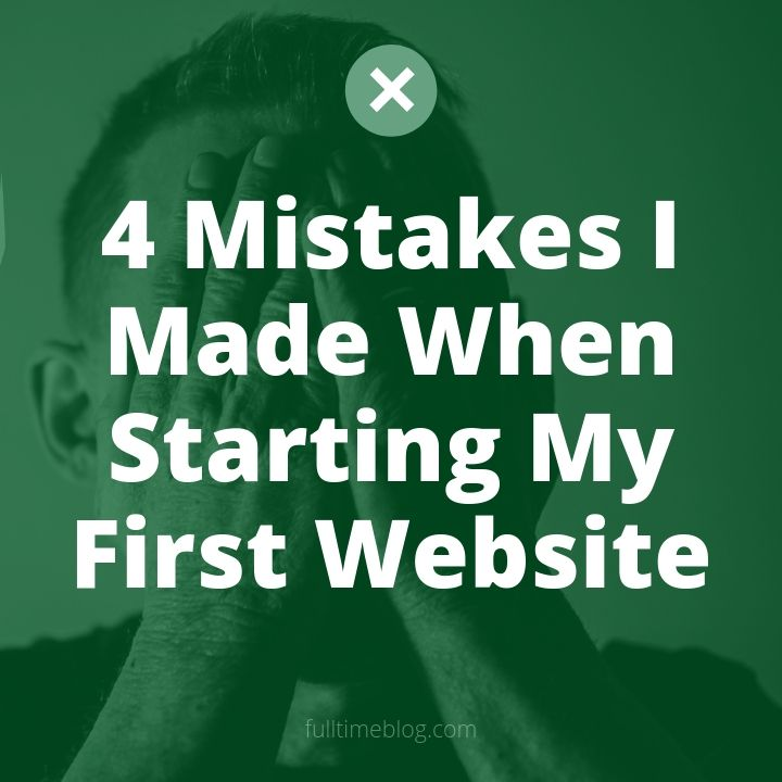 mistakes in online business