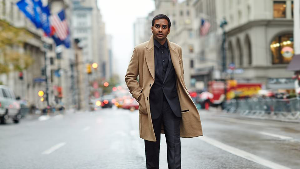 Aziz Ansari for Mr Porter