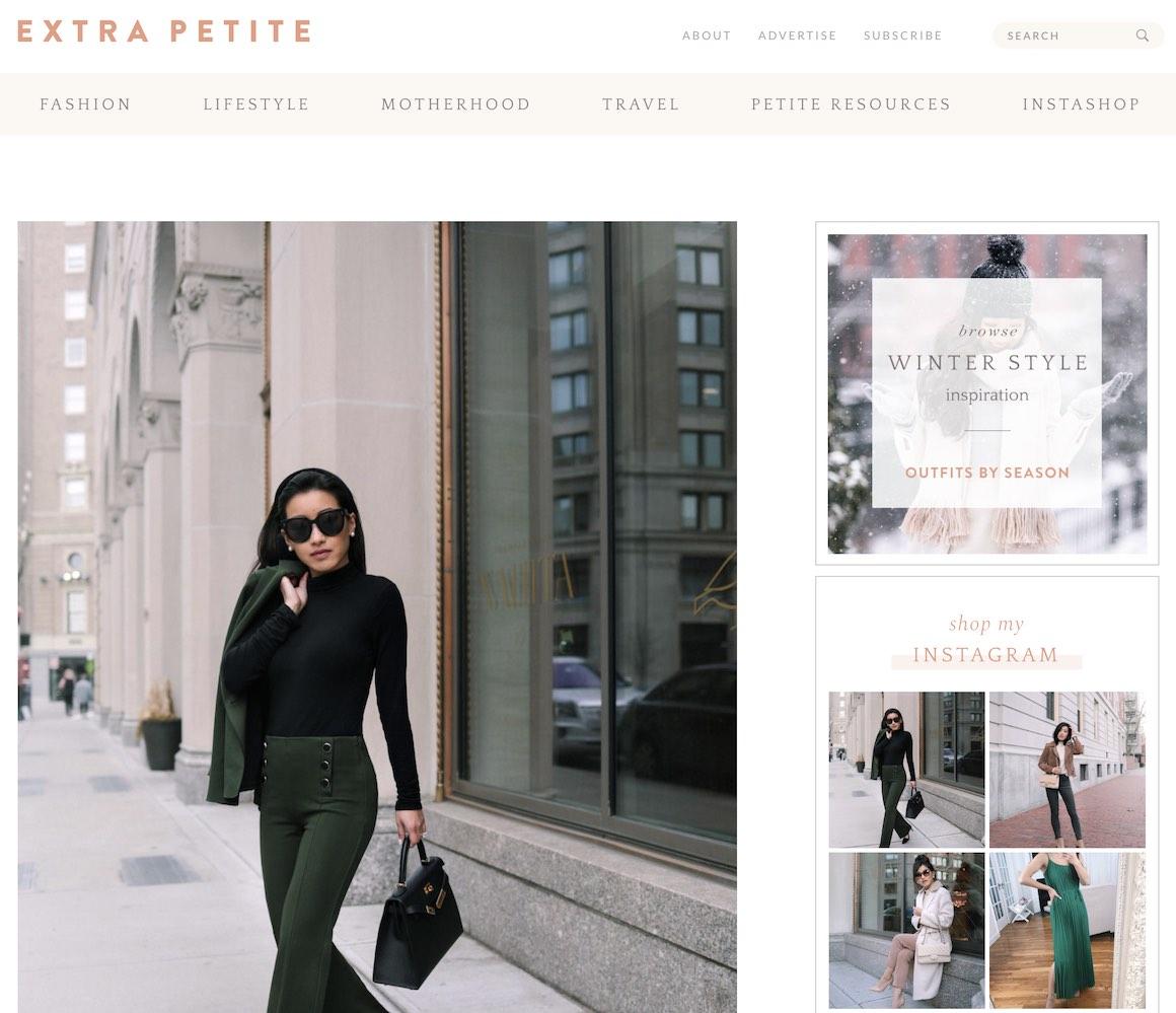 Extra Petite blog