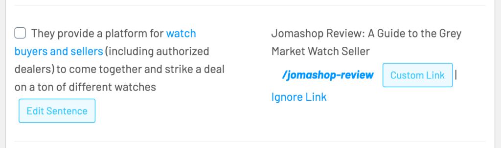 Link Whisper suggested link